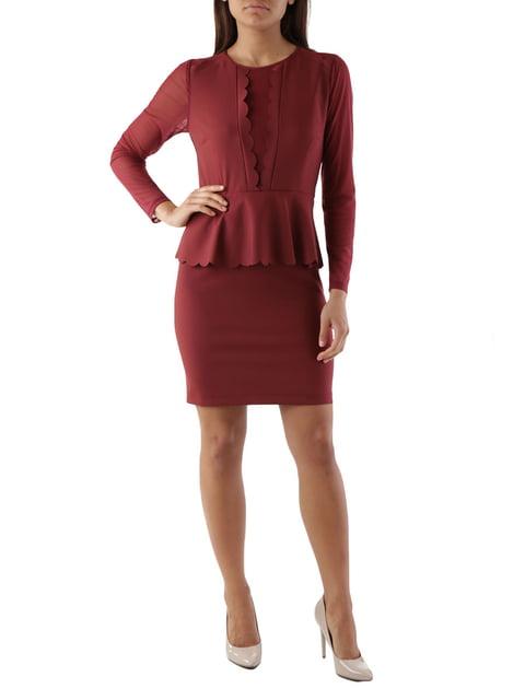 Сукня червона Cristina Gavioli 4454566