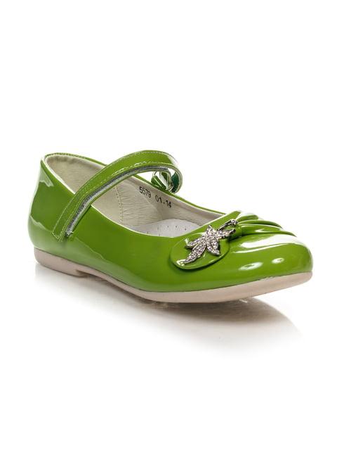 Туфли салатовые Шалунишка 4407298