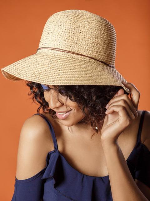 Шляпа бежевая Gepur 4310683