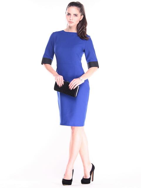 Платье цвета электрик Maurini 4456017