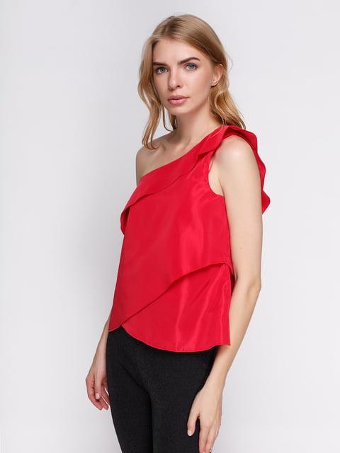 Топ червоний Zara 3912299
