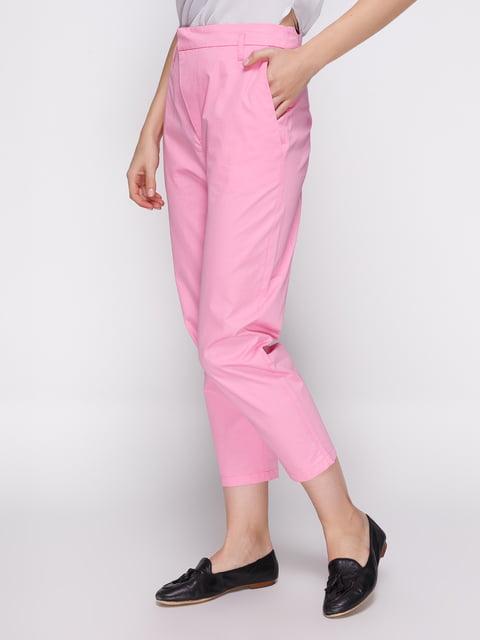 Брюки розовые Zara 3910981