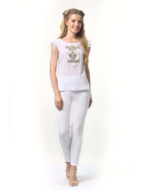 Блуза белая AGATA WEBERS 4421092