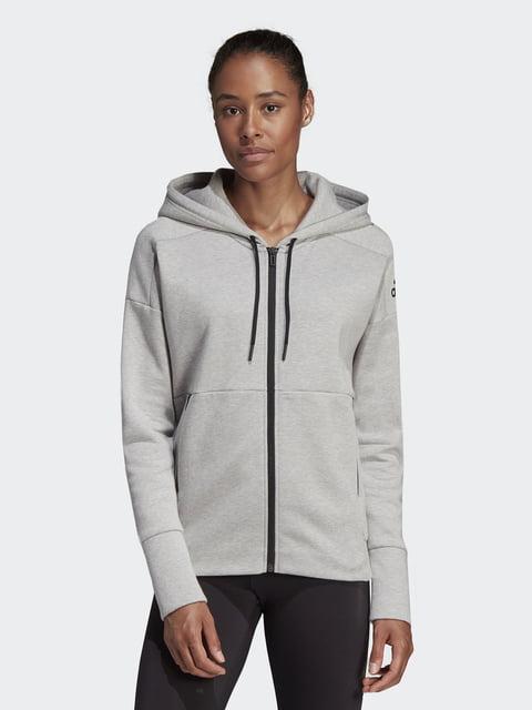Кофта серая Adidas 4443002