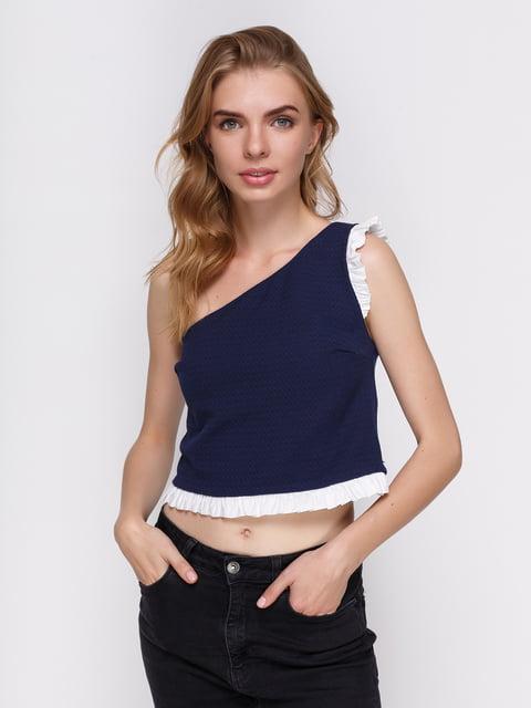 Топ синій Zara 3268453