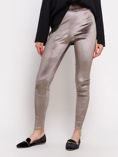Брюки темно-бежевые Zara 3911420