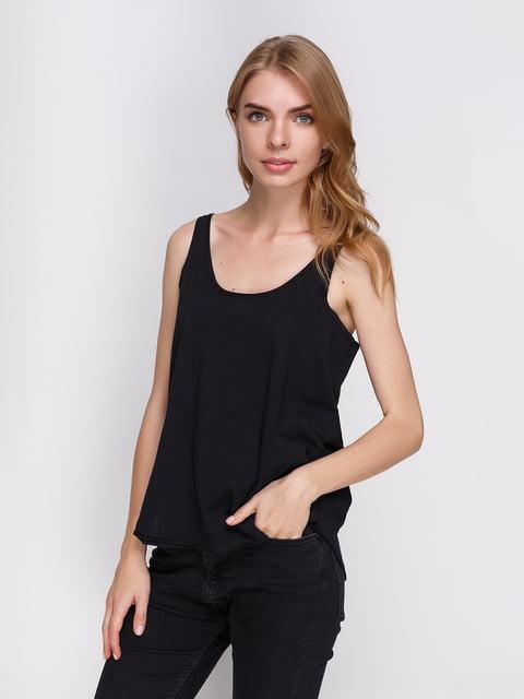 Майка чорна Zara 3917326