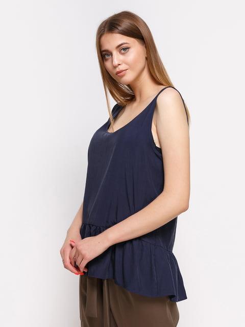 Топ темно-синій Zara 3911998