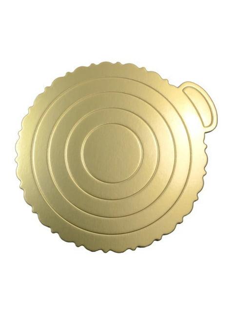 Підкладка для торта золотиста (220 мм) Trendy 4458392