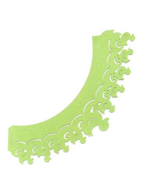 Накладка паперова декоративна ажурна для мафінів (20 шт.) Trendy 4458412