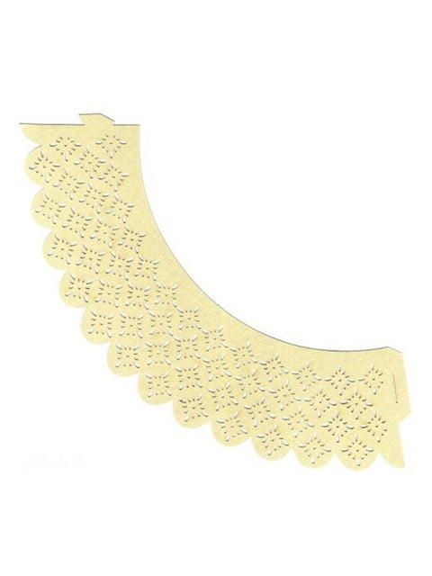 Накладка паперова декоративна ажурна для мафінів (20 шт.) Trendy 4458413