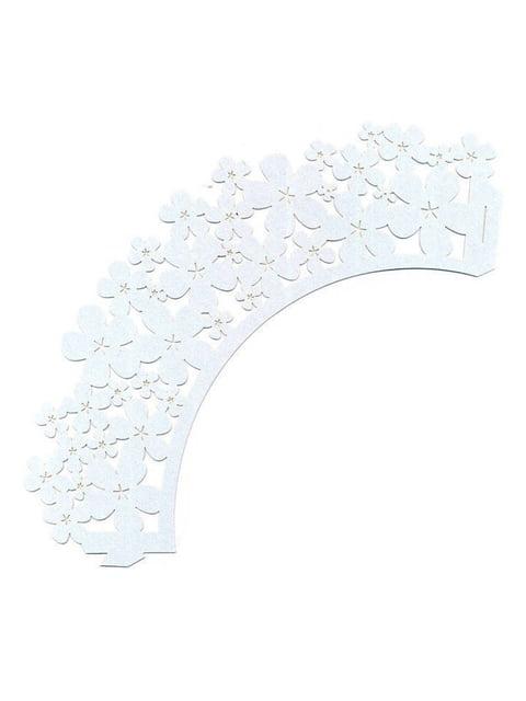 Накладка паперова декоративна ажурна для мафінів (20 шт.) Trendy 4458414