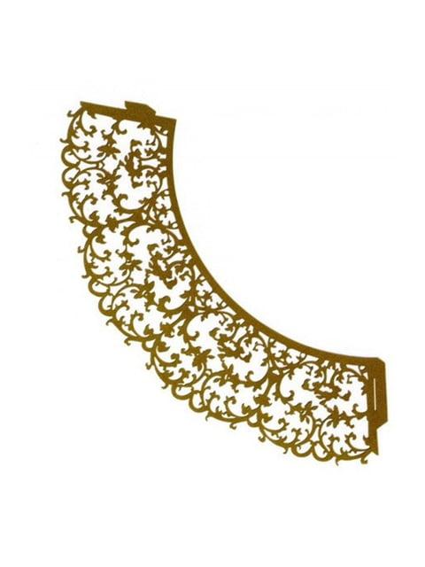Накладка паперова декоративна ажурна для мафінів (20 шт.) Trendy 4458418
