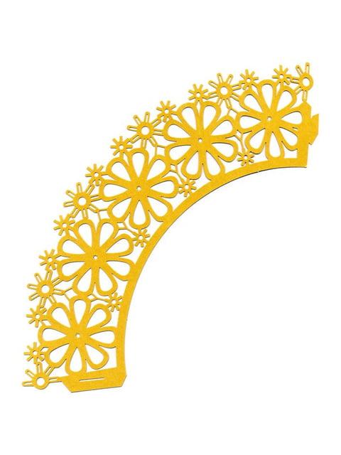 Накладка паперова декоративна ажурна для мафінів (20 шт.) Trendy 4458425
