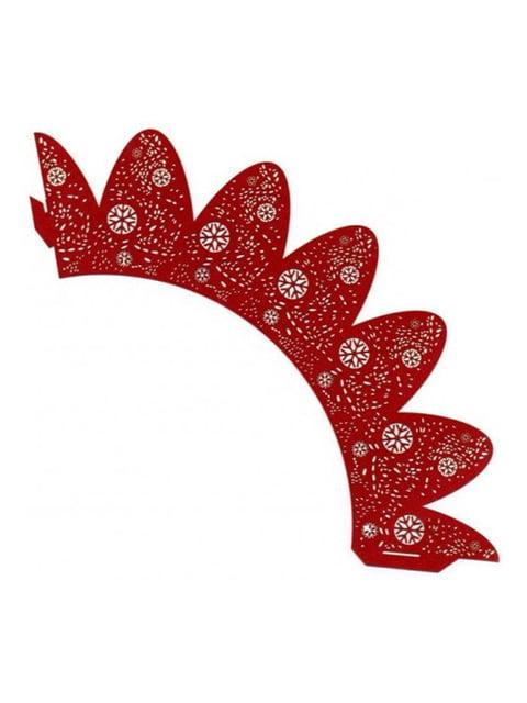Накладка паперова декоративна ажурна для мафінів (20 шт.) Trendy 4458428