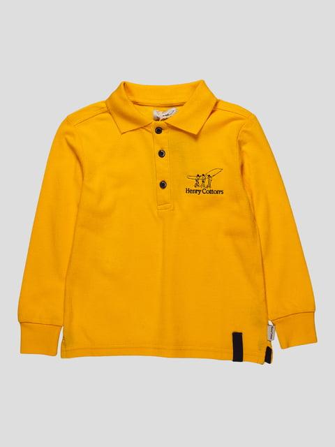 Джемпер жовтий Henry Cotton's 4407337