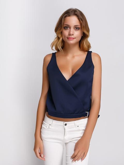 Топ синій Zara 2750248