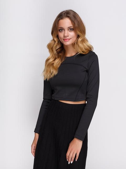 Лонгслів чорний Zara 3911878
