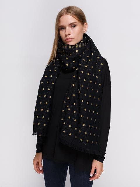 Палантин черный Zara 3911442