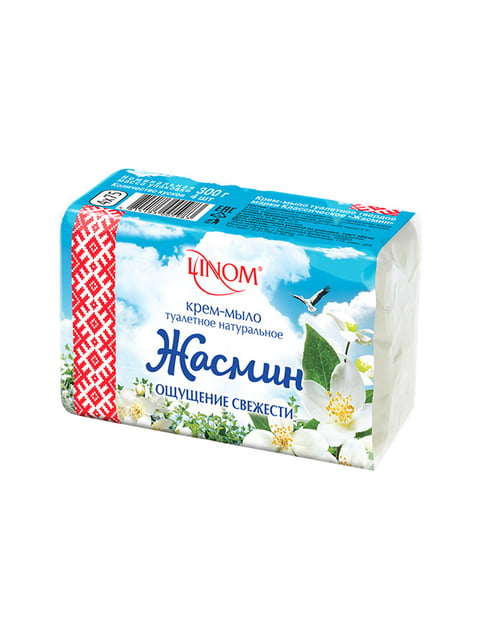 Крем-мило туалетне «Жасмин» - екопак (300 г) LINOM 4459067