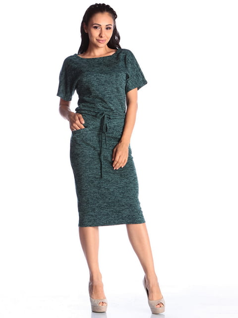 Платье темно-изумрудное Laura Bettini 4459509