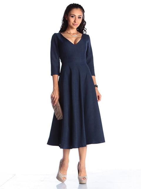 Сукня темно-синя Laura Bettini 4459561