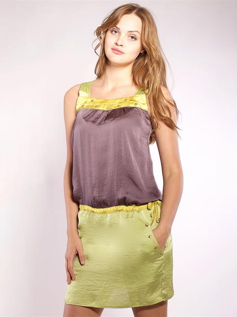 Сукня двоколірна Mila Nova 4202670