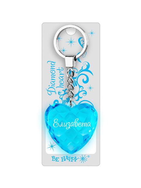 Брелок у вигляді діамантового серця «Елизавета» Be Happy 4464716