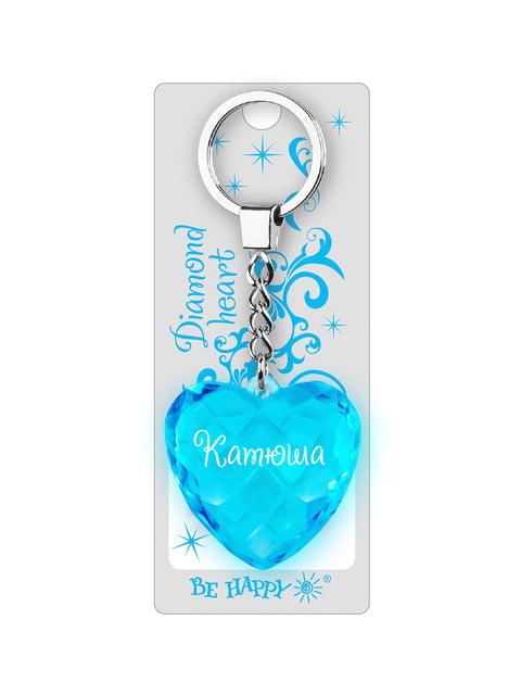 Брелок у вигляді діамантового серця «Катюша» Be Happy 4464723