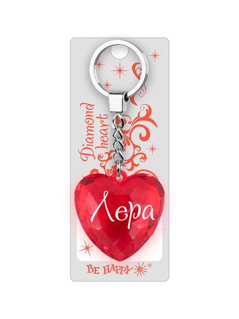 Брелок у вигляді діамантового серця «Лера» Be Happy 4464732