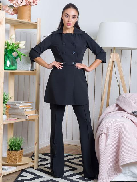 Жакет черный First Land Fashion 4465959