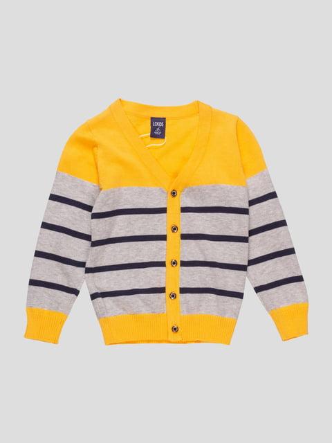 Кофта жовта LC kids 4457132