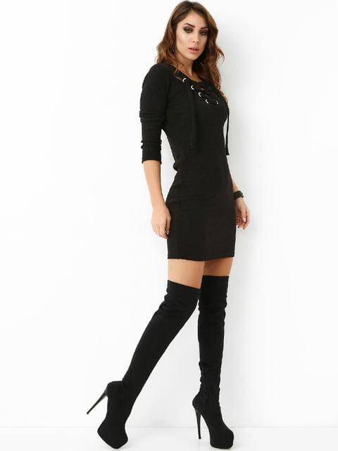 Сукня чорна UNQ 4474993