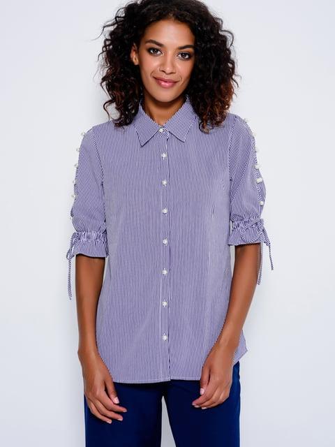 Рубашка в полоску Magnet 4479635
