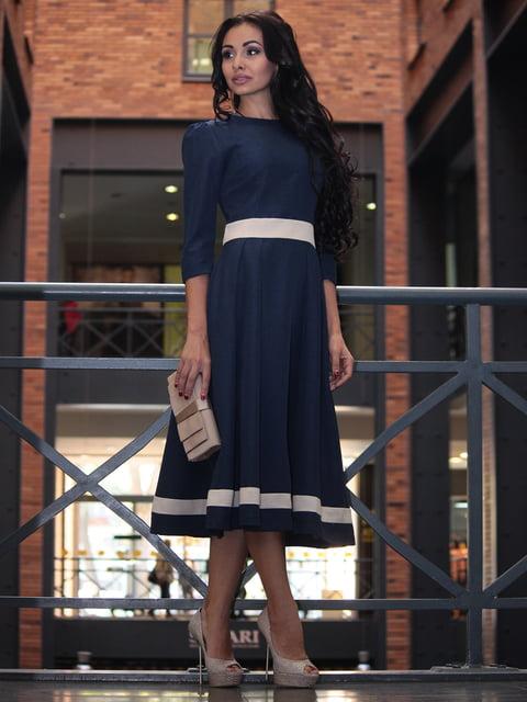 Платье темно-синее Dioni 3679122