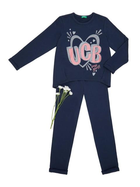 Костюм: джемпер и брюки Benetton 4444688