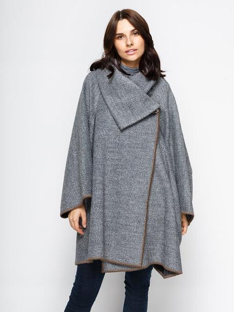 Пальто сіре Dolcedonna 4467580