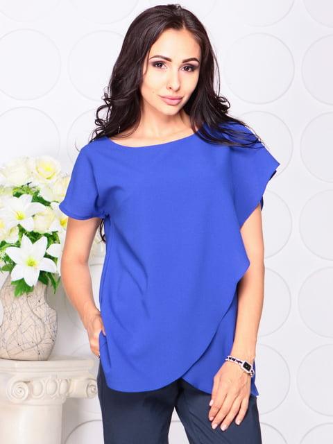 Блуза цвета электрик Laura Bettini 4487808