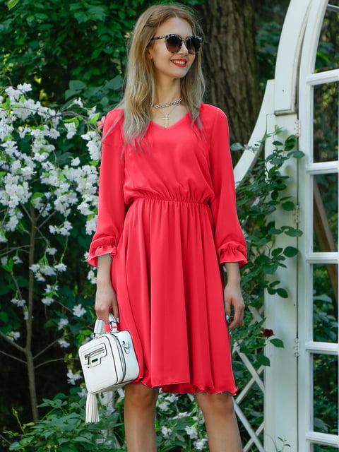 Платье коралловое Alissia Rey 4487896