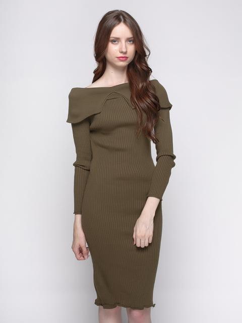 Сукня кольору хакі Imperial 4480736