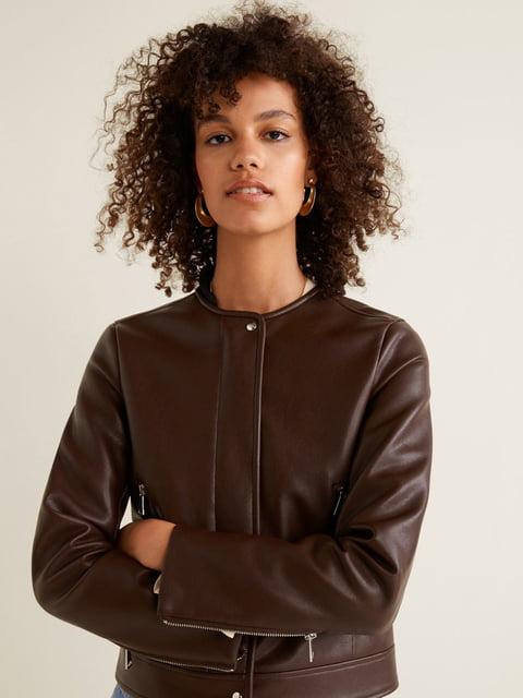 Куртка коричневая Mango 4489471