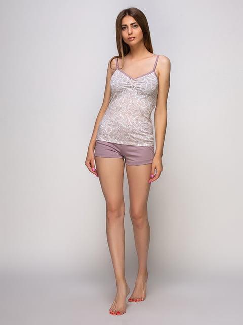 Пижама: майка и шорты Наталюкс 4480288