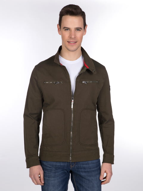 Куртка цвета хаки Giorgio di Mare 3989642
