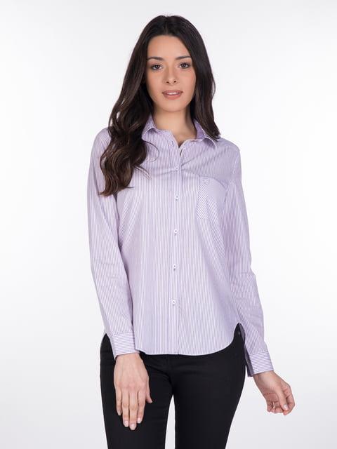 Сорочка фіолетова Giorgio di Mare 4138134