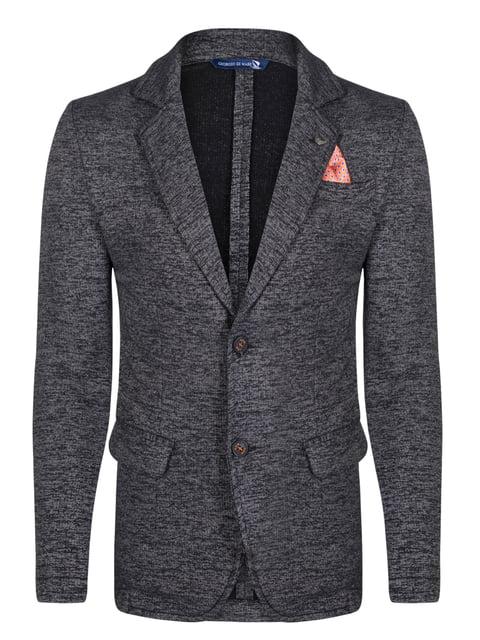 Пиджак черный Giorgio di Mare 4376977