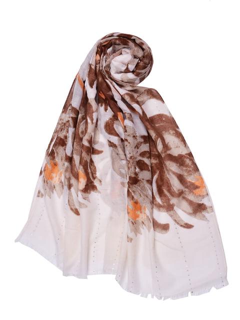 Палантин в цветочный принт Fashion Look 4490897