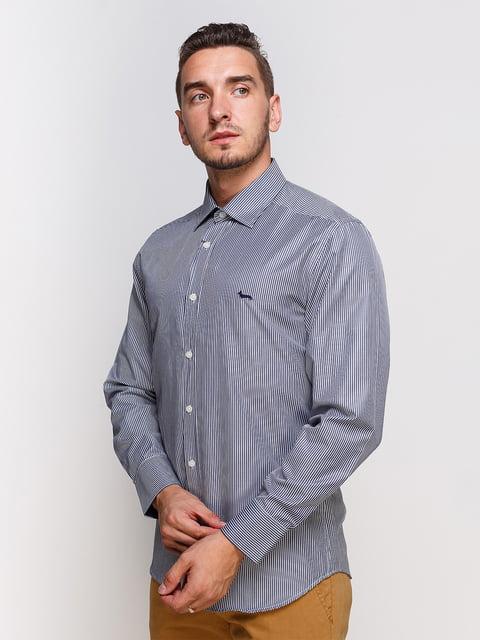 Рубашка в полоску HARMONT & BLAINE 2333215