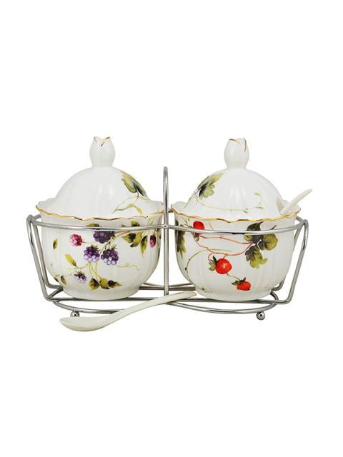 Набор баночек на металлической подставке «Лесная ягода» (2 шт.) LEFARD 4493722