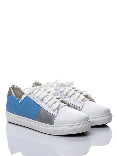 Туфлі триколірні La Rose 3382794