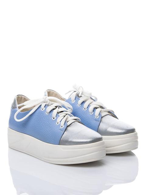 Кеди блакитні La Rose 3501245